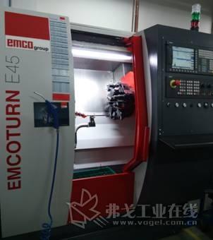 图 2 EMCO车铣复合机床