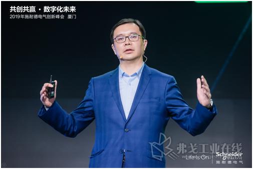 庞邢健,施耐德电气高级副总裁、工业自动化业务中国区负责人