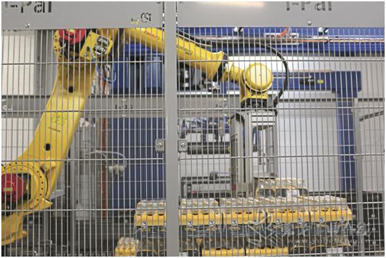 图3 码垛机器人也需要压缩空气才能完成码垛任务