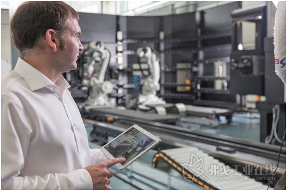 通过Soraluce Digital,用户可以随时了解生产过程及生产消耗的数据