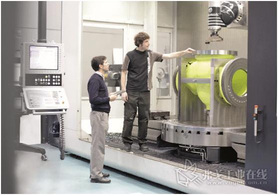 图3 使用Soraluce Digital,可以持续监测和优化工件的生产过程