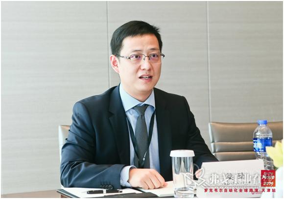 图3 罗克韦尔自动化大中华区自动化及控制软件事业部总经理梁琦