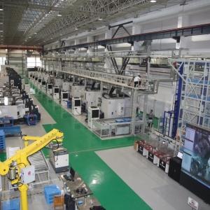 国产高档五轴数控机床应用示范基地在航天科工三院建成