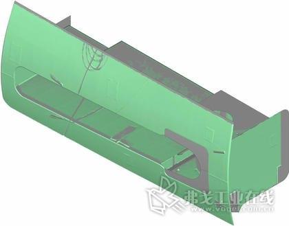 图3:稳定装置的CAD模型,图片由迈尔造船厂提供,版权所有。