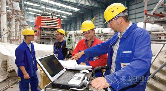 自2012年以来,迈尔造船厂的计量和质量管理部门一直使用几何测量技术作为其质量管理流程的一部分。该部门拥有七位工程师和七位技师,还有一些学徒和实习生。图片由迈尔造船厂提供,版权所有。