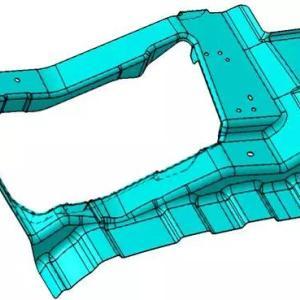 保险杠加强板冲压成形分析及产品优化