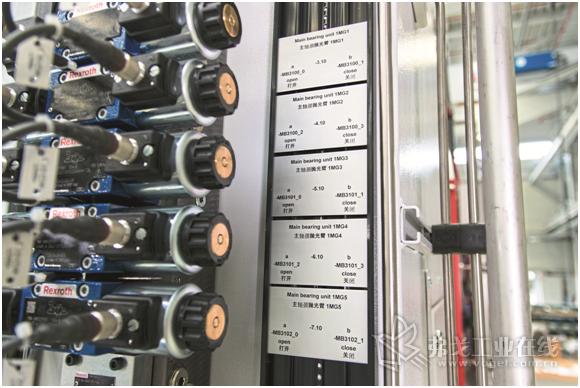 图1 如果通过技术服务商来更换这些电缆标记是一个很大的工作量