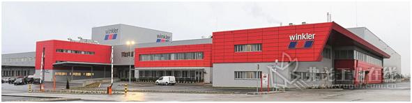 图3 SAP EWM系统总承包商IGZ公司为Winkler公司设计建造的物流中心