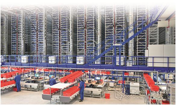利用SAP EWM扩展的仓库管理系统直接在AKL小件仓库中进行配货
