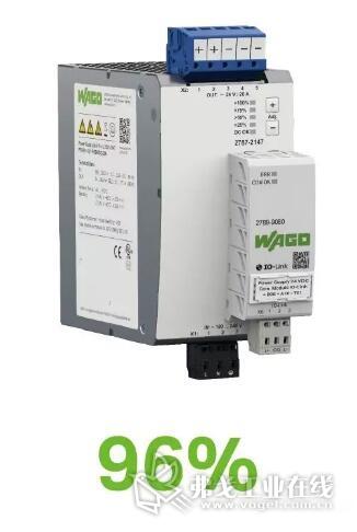 万可新型Pro 2电源宽负载范围内高达96%的效率