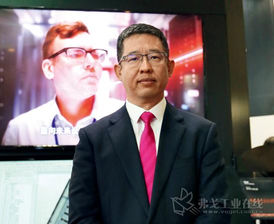 威图电子机械技术(上海)有限公司总裁张强先生