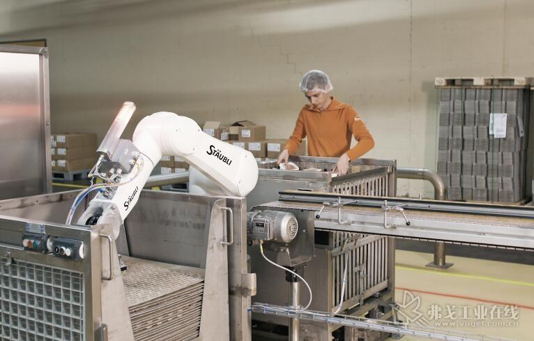 人机协作助力食品行业未来