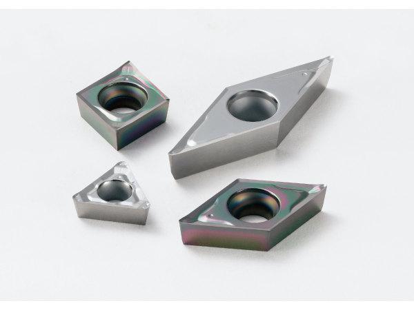 铝材精加工用 正角刀片 AP断屑槽