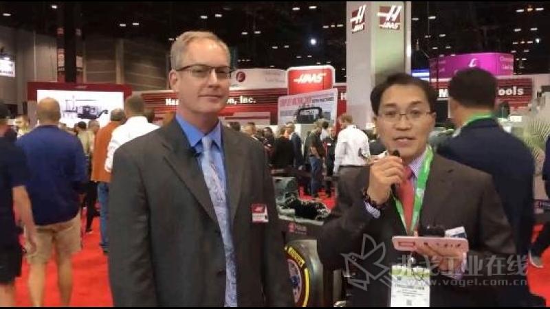 IMTS2018-Scott Rathburn先生美国哈斯自动化公司市场部产品经理