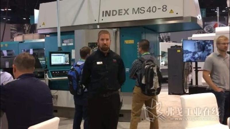 IMTS2018-因代克斯应用工程师Aaron Carol 先生