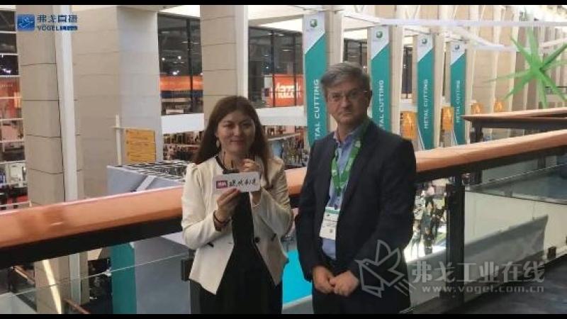 IMTS2018-瑞士精机全球销售总监Vincenzo Bonavoglia先生接受李语林直播的采访