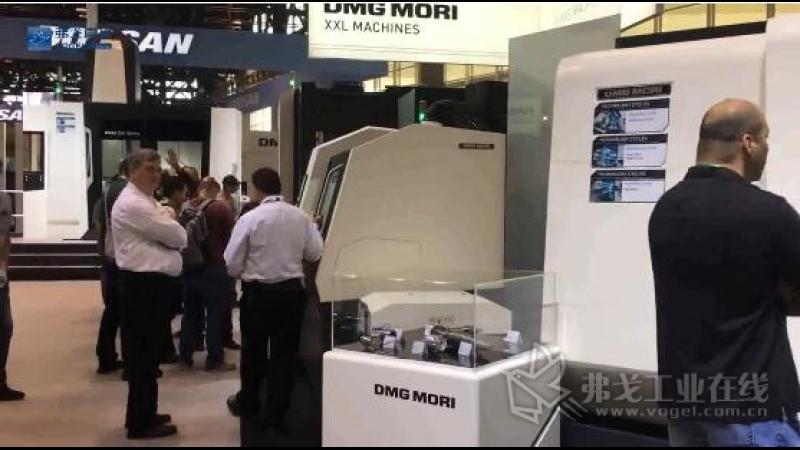 IMTS2018-DMG MORI美国公司国家工程总经理Jeff Wallace先生介绍展台亮点