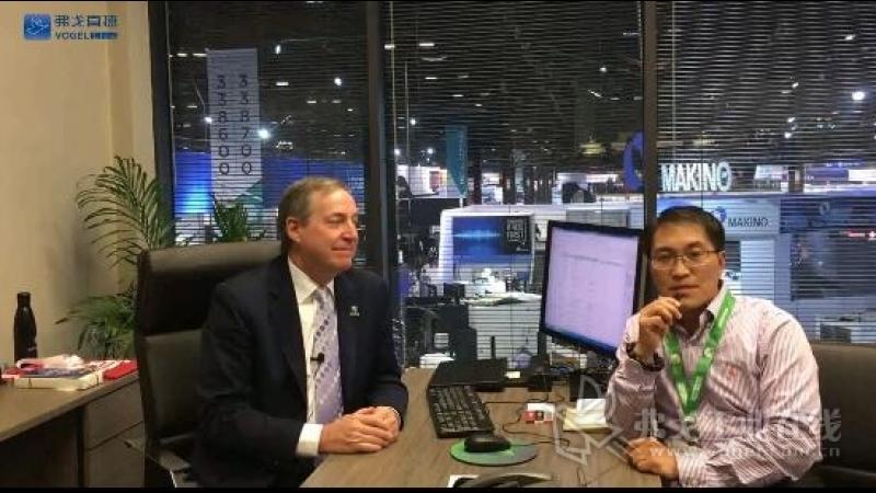 IMTS2018-美国机械制造技术协会(AMT)副总裁兼IMTS负责人Peter Eelman先生接受MM《现代制造》陈主编采访