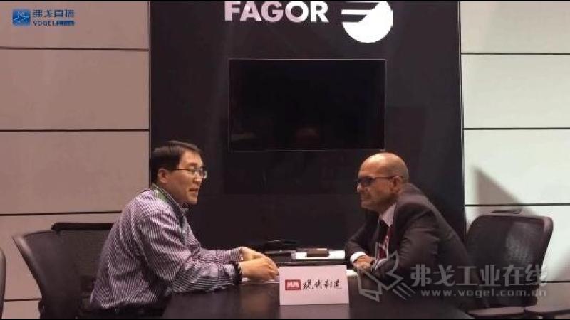 IMTS2018-发格自动化全球CEO José Pérez接受MM主编陈永光的采访