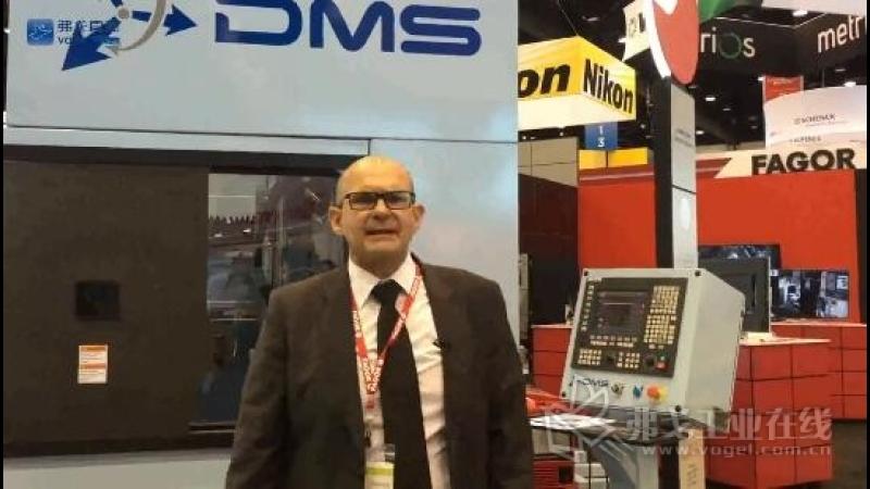 IMTS2018-发格自动化全球CEO José Pérez展台介绍