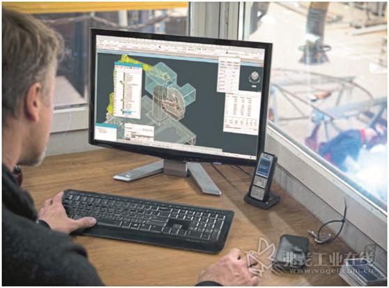 图2 EWM公司还提供基于机器人技术的3D焊接解决方案