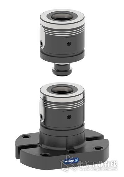 VERO-S WDM-5X 系列产品的各个夹紧模块可使用内六角扳手组合成高度可自定义的夹持柱。