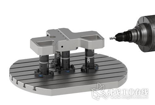 SCHUNK VERO-S WDM-5X 系列产品在 5 轴加工中使工件更易加工。夹紧模块可通过内六角扳手简单、快速地启动。