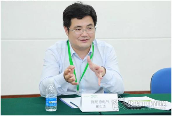 施耐德电气工业自动化事业部OEM业务总经理崔志达