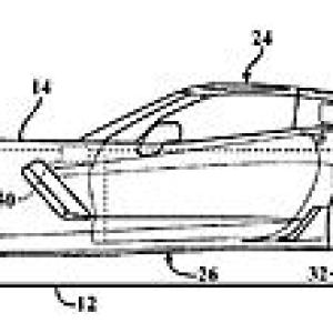 通用中置发动机Corvette获主动空气动力专利 时速150英里仍平稳