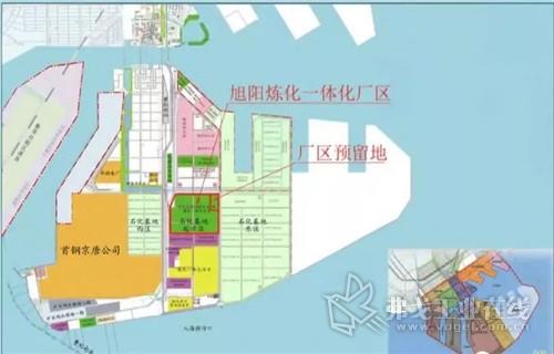 项目建设地点位于曹妃甸化学工业园区