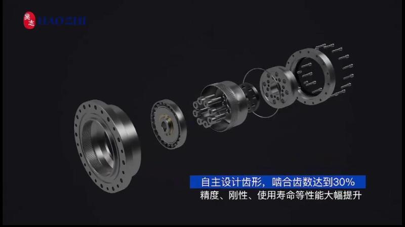 昊志机电减速器动画(精度寿命)