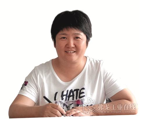 山东众得利公司总经理 吕美香女士