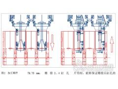 双主轴补偿型缸孔推拉镗工艺