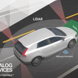 ADI与First Sensor合作 共同开发更低廉的激光雷达传感器
