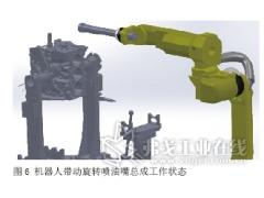 基于机器人的智能化发动机缸孔润滑设备开发
