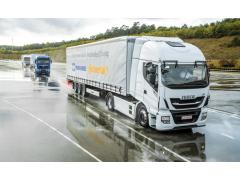 大陆集团与克诺尔集团合作进行商用车编队行驶项目测试