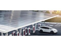 特斯拉利用太阳能平衡超级充电站成本