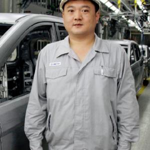 常家欢先生 江西昌河铃木汽车有限责任公司九江分公司焊装车间主任