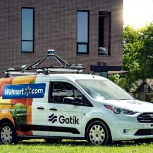 沃尔玛与自动驾驶汽车创企Gatik合作 推行自动驾驶试点项目