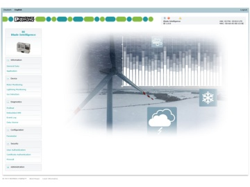 菲尼克斯电气:基于PLCnext平台的风机叶片智慧综合监控系统