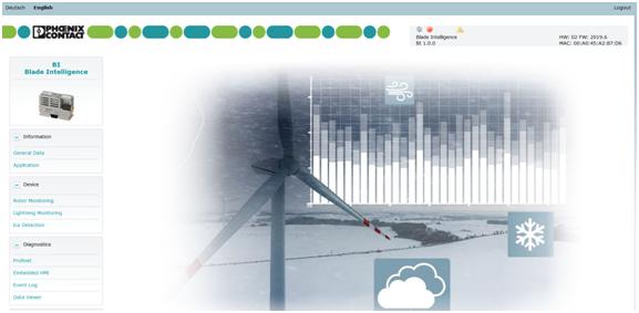 基于PLCnext平台的风机叶片智慧综合监控系统