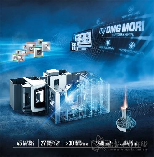 积极打造数字化未来:DMG MORI携自动化和数字化解决方案亮相本届EMO汉诺威国际机床展。