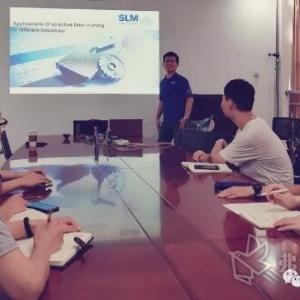 """SLM Solutions走进高校"" 第二站-西北工业大学"