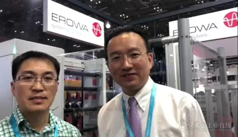 爱路华产品与技术销售总经理陆俊杰先生