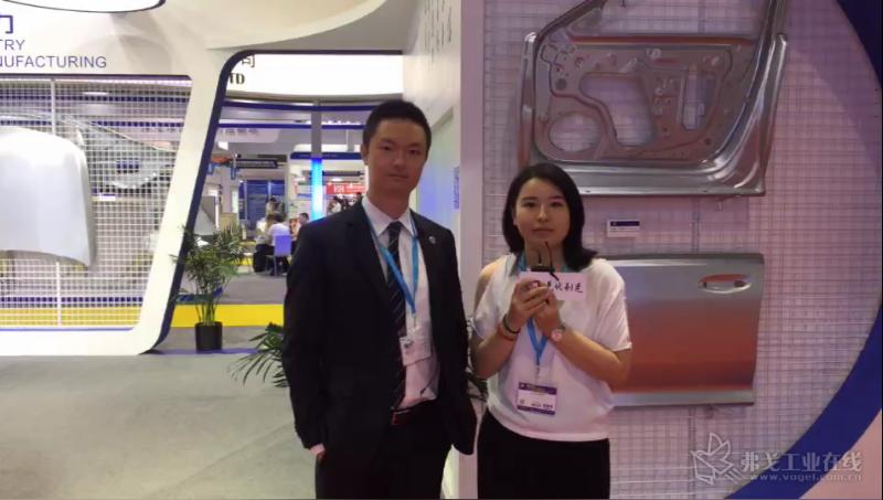 上海赛科利汽车模具技术应用有限公司市场营销部副总监贝倍先生