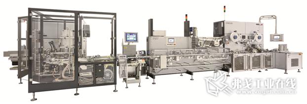 图1 Loeschpack系列的高灵活性包装线可以高产能、多样化的产品包装