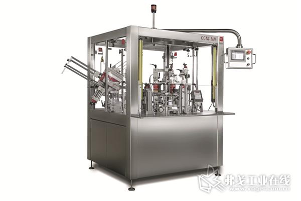 图3 JW包装技术公司研发生产的半自动立式打包机有着很高的使用灵活性和经济效益