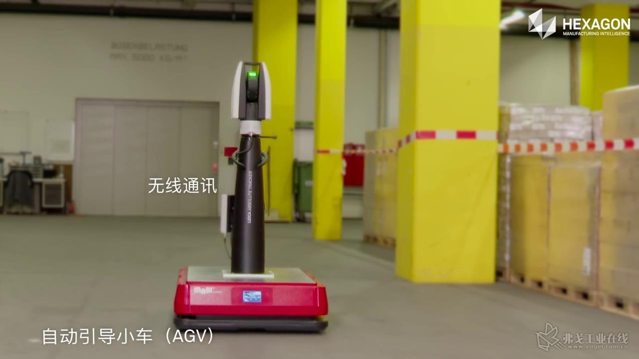 AGV技术全自动扫描