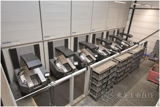 图 1 利用SAP EWM扩展的仓库管理系统直接在AKL小件仓库中进行配货