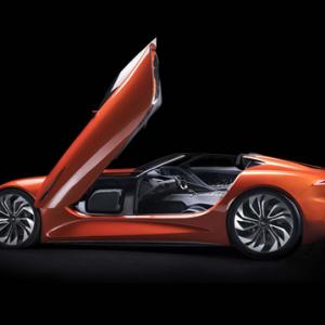 Karma发布首款电动汽车 造型炫酷